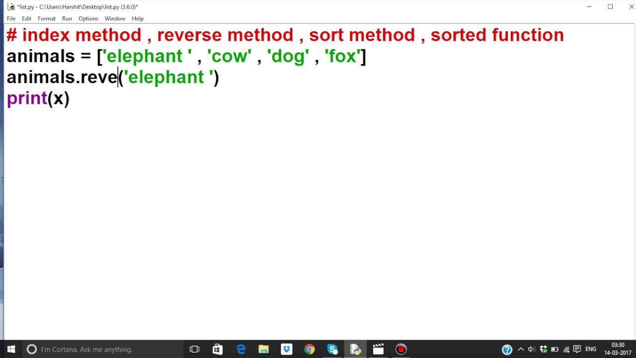 python tutorial in hindi 28 list part 4
