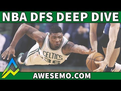 DraftKings & FanDuel NBA DFS Picks - Deeper Dive - Fri 10/26 - Awesemo.com