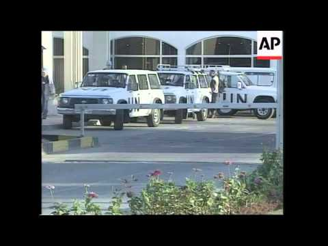 UN Inspectors head out on first mission