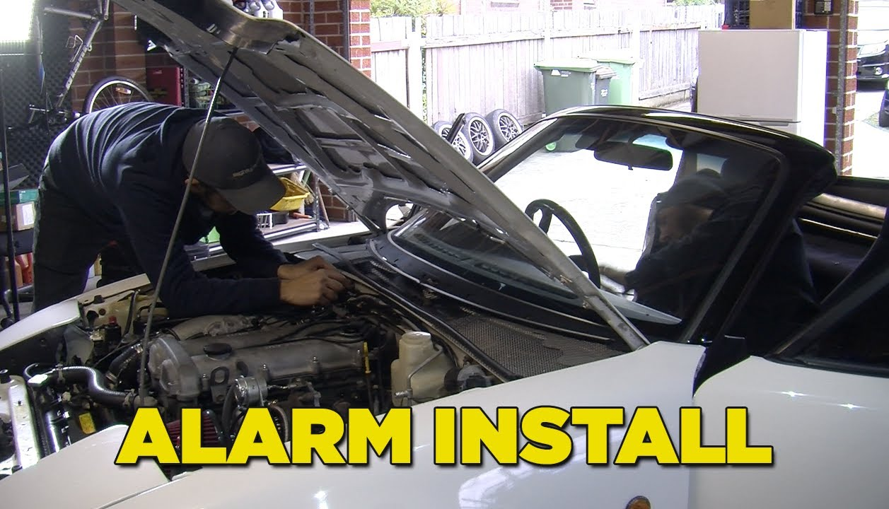 how to install an alarm  mighty car mods