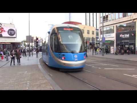 West Midlands Metro Birmingham - Wolverhampton 5th Sept. 2019