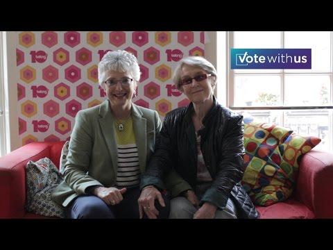 #VoteWithUs Katherine & Ann Louise