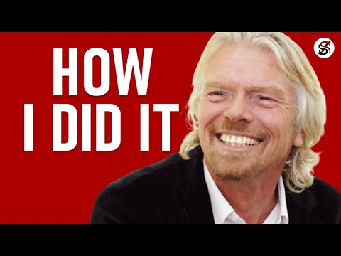 Richard Branson's steps to achieving success by bravery