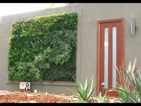 Creative vertical garden wall design ideas YouTube