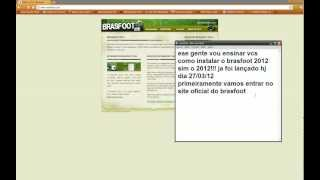 Download Brasfoot 2012 e registro Brasfoot 2012