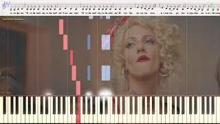 Я тебя люблю - Воробьёв Алексей  (Ноты и Видеоурок для фортепиано) (piano cover)