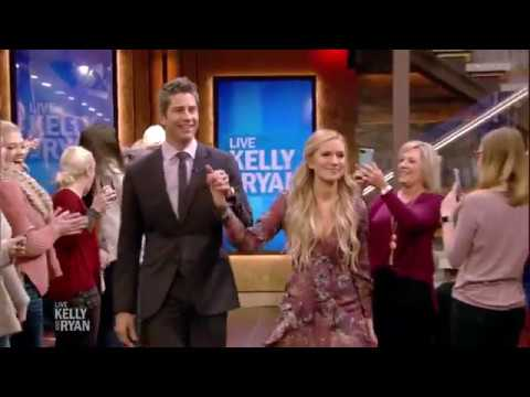 "Arie Luyendyk & Lauren Burnham the Morning After ""The Bachelor"" Finale"