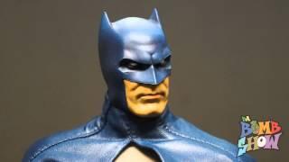 Sideshow  DC Blue Grey Batman 1/6 Figure Review Joker, Catwoman, Harley Quinn - Da Bomb Show