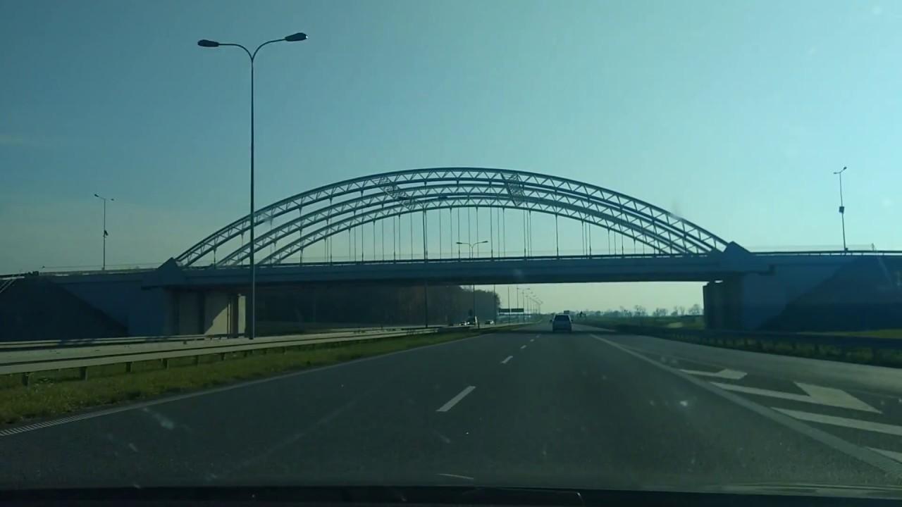 roads in Poland - A1 highway / дороги в Польше - Автомагистраль A1