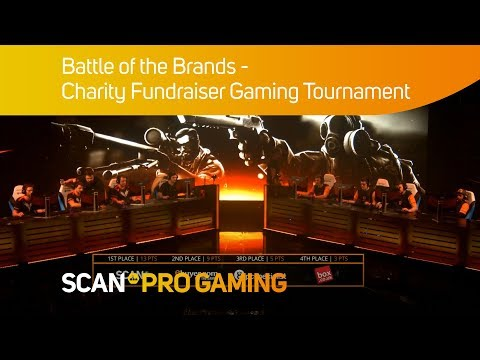 Battle of the Brands 2018 - ESL Charity Fundraiser Gaming Tournament  Short review