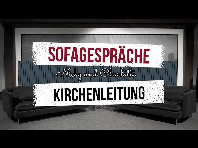 DeineKirche | Sofagespräche | Kirchenleitung