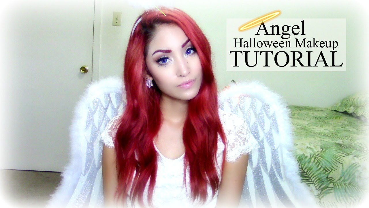 Angel Halloween Makeup Tutorial - YouTube