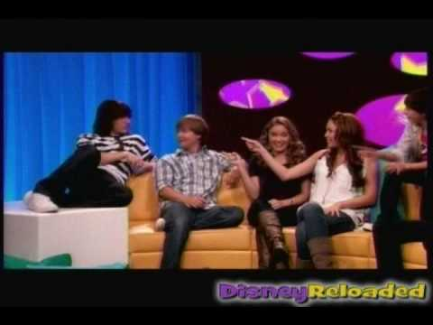 Hannah Montana: The Movie Cast Confessions 4