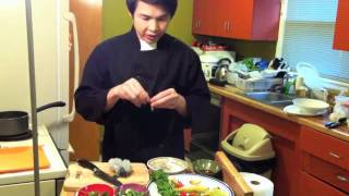 """Tom Yum Goong"" Easy Thai Cooking by Chef SC."
