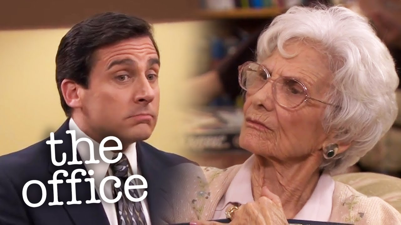 Michael Asks His Nana for Money - The Office US