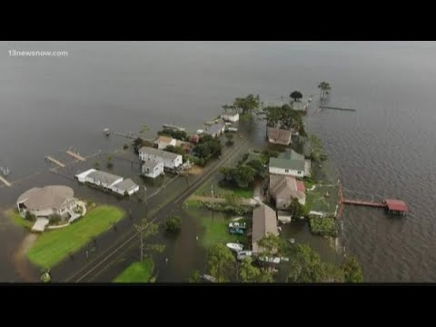 Residents assess flood damage in Currituck County