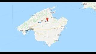 Mallorca Karte - Landschaft und Landkarte: