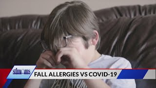 Spotting the differences between fall allergies and COVID-19