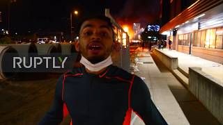 USA: Fear and looting in fiery Minneapolis protests