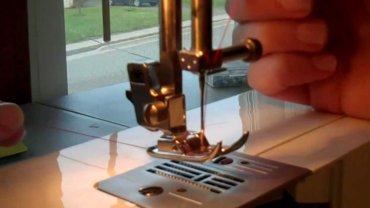 How To  Thread A Brother Lx-3125 Sewing Machine