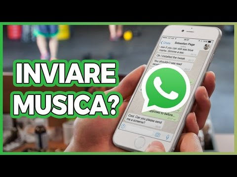 Condividere MUSICA su WHATSAPP con iPhone: si può?