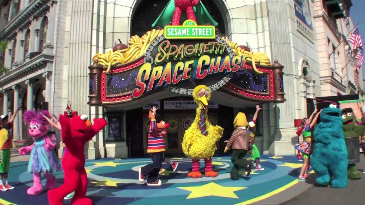 Sesame Street Spaghetti Space Chase Launches at Universal ...Universal Studios Singapore Sesame Street Spaghetti Space Chase