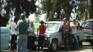 Denuncian trabajadores de rancho Santa Fe, abusos en cateo