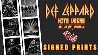 Limited edition signed prints coming to Las Vegas Residency | Def Leppard