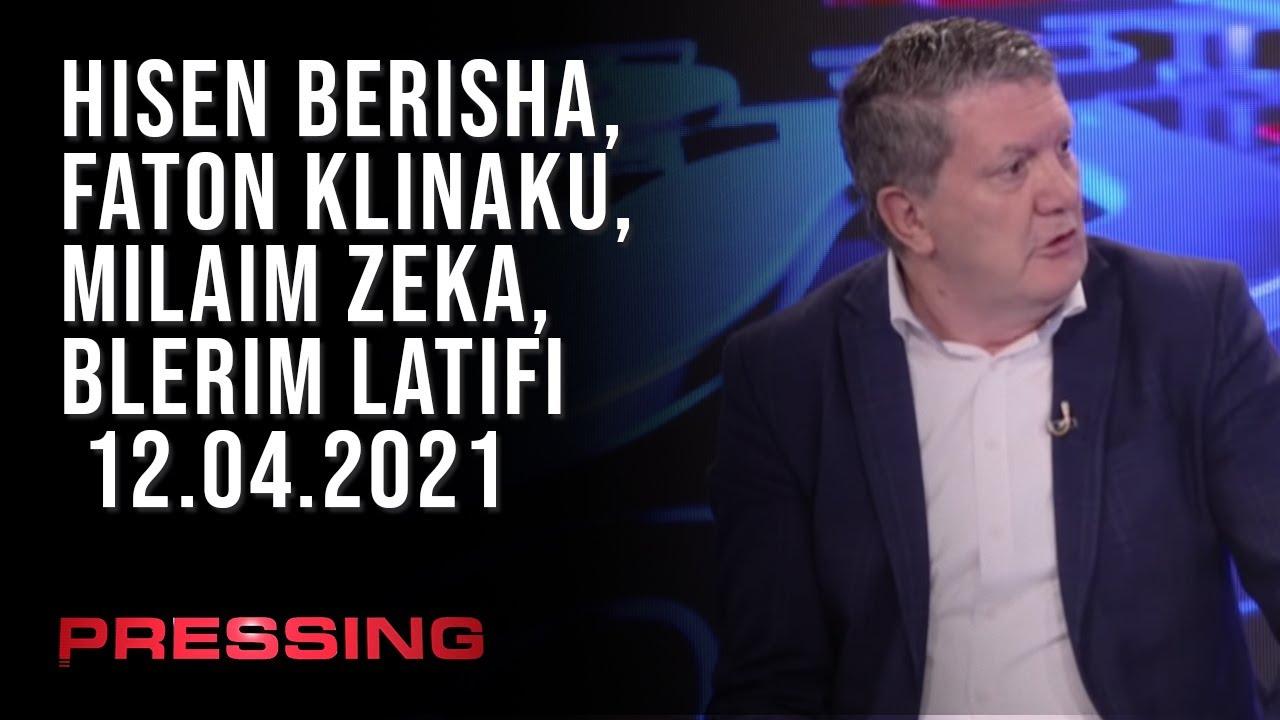 PRESSING, Hisen Berisha, Faton Klinaku, Milaim Zeka, Blerim Latifi – 12.04.2021