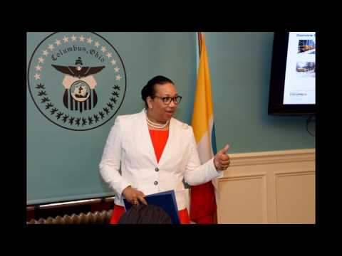 City Of Columbus Leadership Hosts Mandela Fellows