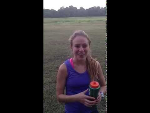 Freshman Regan Rome post race thoughts Richmond