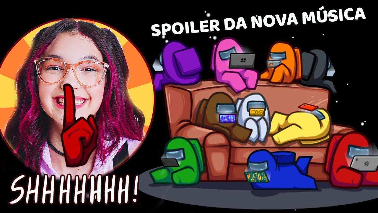A NOVA MÚSICA DA LULUCA NO AMONG US !! SPOILER de VAMOS SONHAR | Luluca Games