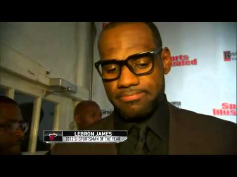 LeBron James Sports Illustrated Sportsman of the Year