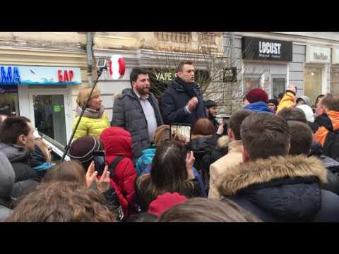 Алексей Навальный. Встреча с волонтёрами. Нижний Новгород, 6 марта 2017