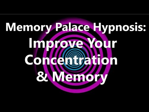 Memory Palace Hypnosis: Improve Your Concentration & Memory