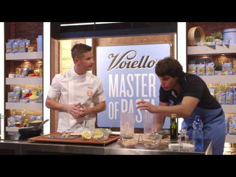 MASTER OF PASTA – Valerio presenta il suo piatto con Voiello