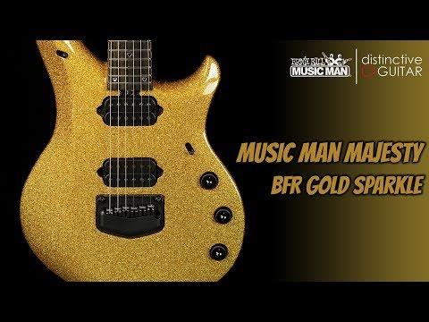 Ernie Ball Music Man Majesty | BFR Gold Sparkle Limited Edition Petrucci