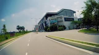 Lembah Subang駅からチタモール
