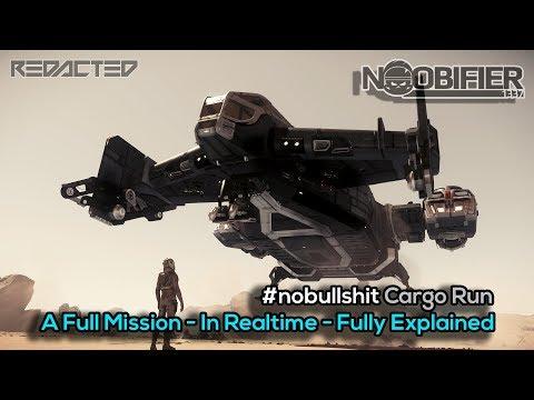 100% Real-time Cargo Mission - Fully Explained - #nobullshit Star Citizen