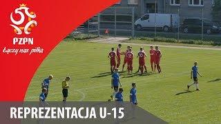 U-15: Skrót meczu Estonia 0:6 Polska