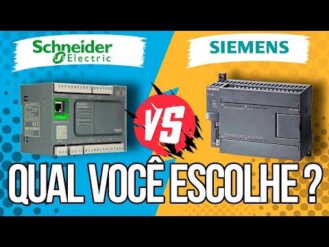 Porque eu escolhi o CLP Schneider ao invés do CLP Siemens ?