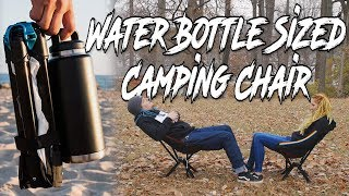 The Bottle Sized Camping Chair