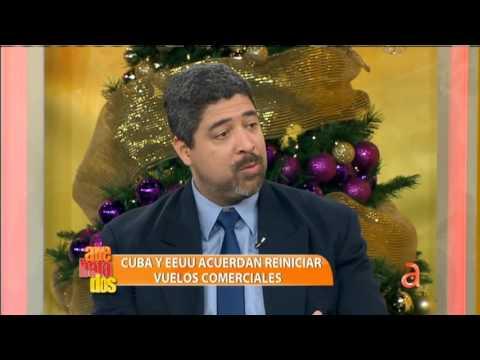 Cuba y EEUU acuerdan reiniciar vuelos comerciales - América TeVé
