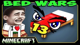 ч.13 Bed Wars Minecraft - Супер Нинзя!
