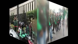 Komunitas Grab Hokya-hokya Solo Paragon - Momen Pembagian Takjil