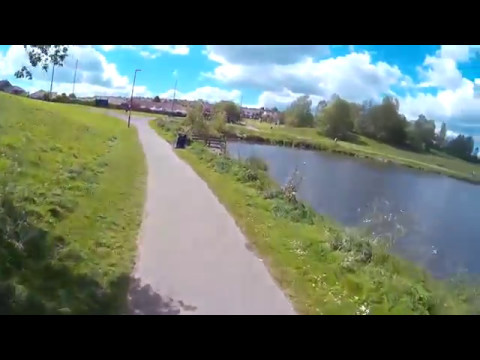 Cycle Ride Gilley Law Ski Slope to Rainton Meadows | Cardio Fitness Workout Video