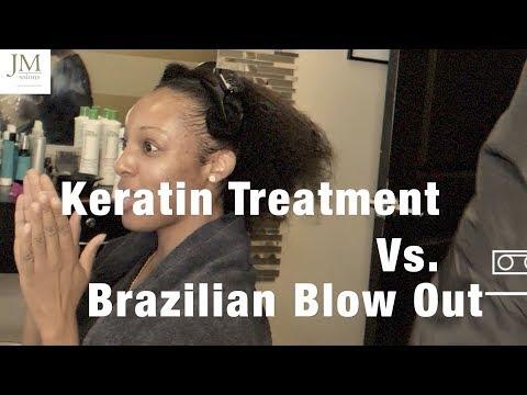 Keratin Treatment Vs Brazilian Blow Out