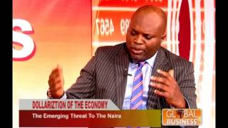 TOPE FASUA ON GLOBAL ECONOMY SHOW. DISCUSSES FX MANAGEMENT 1