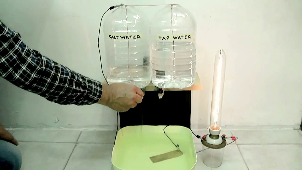 Salt water electric conductivity - YouTube for Salt Water Lamp  568zmd