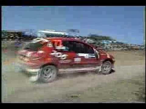 Mauricio Serrano Peugeot Leg 1 WRC 06